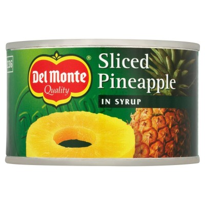 DEL MONTE PINEAPPLE SLICES IN SYRUP