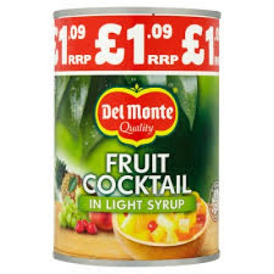 DEL MONTE FRUIT COCKTAIL IN SYRUP PM