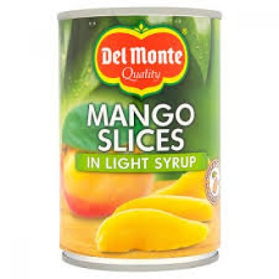 DEL MONTE SLICED MANGO IN LIGHT SYRUP