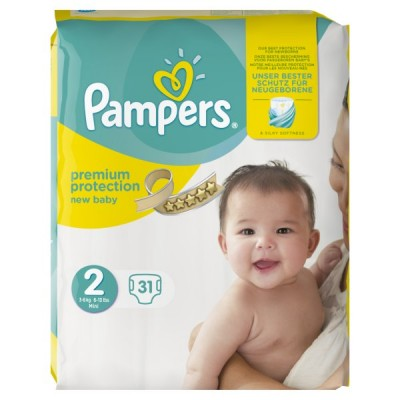 PAMPERS PREMIUM PROTECTION S2 CARRY PK