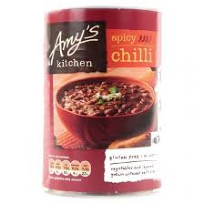 AMYS KITCHEN SPICY VEGETABLE CHILLI