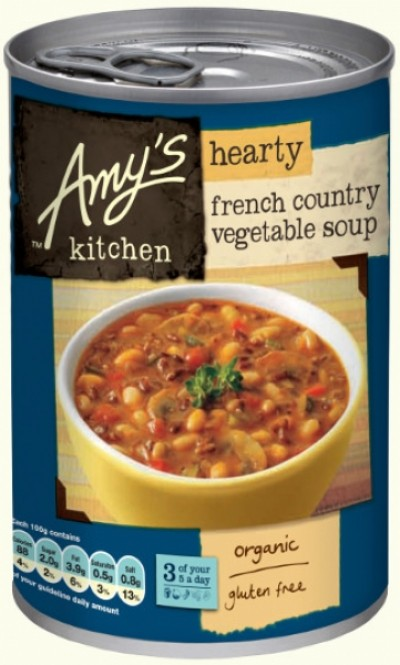 AMYS KITCHEN HEARTY FRENCH COUNTRY VEGETABLE SOUP