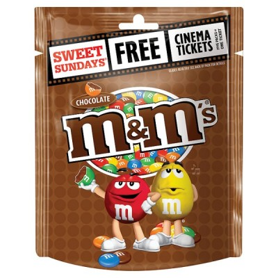 MARS M&MS CHOCOLATE POUCH
