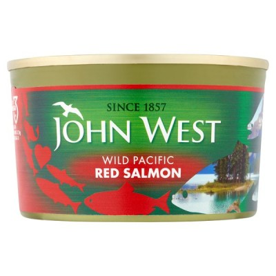 J WEST RED SALMON