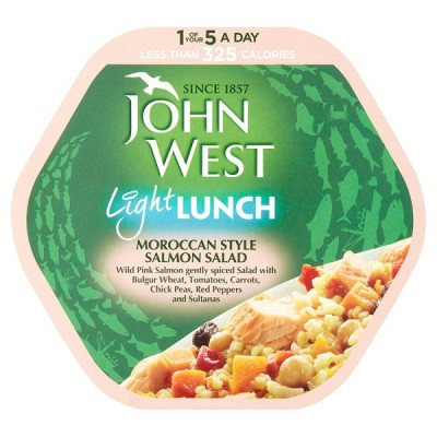 J WEST L/LUNCH MOROCCAN SALMON