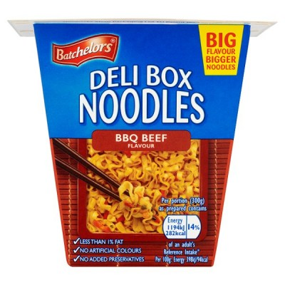 BATCHELORS DELI BOX NOODLES BBQ BEEF