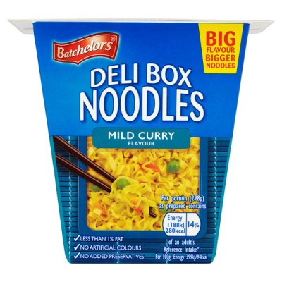 BATCHELORS DELI BOX NOODLE CURRY
