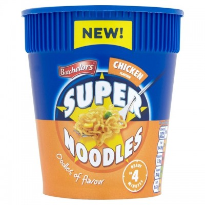 BATCHELORS SUPER NOODLES POT CHICKEN