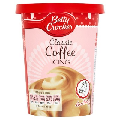 BETTY CROCKER COFFEE ICING