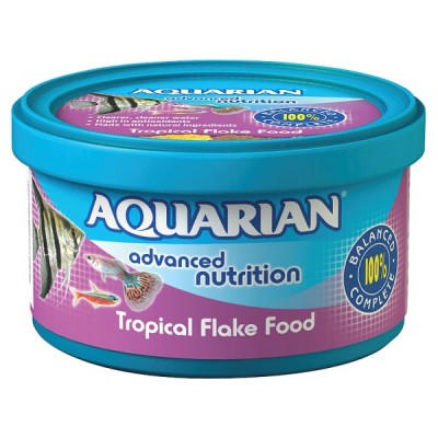 AQUARIAN TROPICAL FISH FOOD