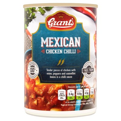 GRANTS MEXICAN CHICKEN CHILLI