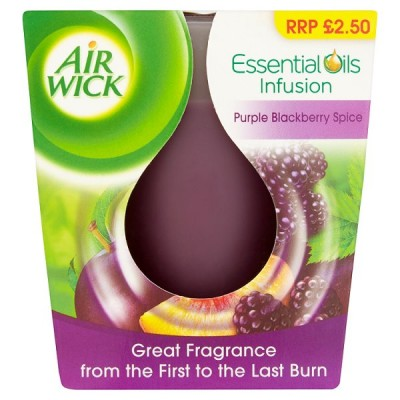 AIRWICK CANDLE BERRIES & SPICE PM