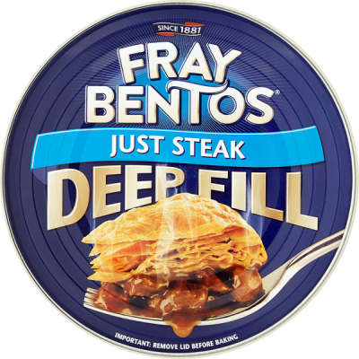FRAY BENTOS JUST STEAK PIE