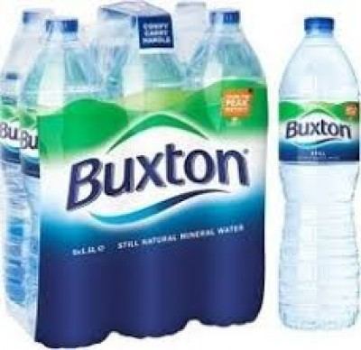 BUXTON MINERAL WATER 6PK