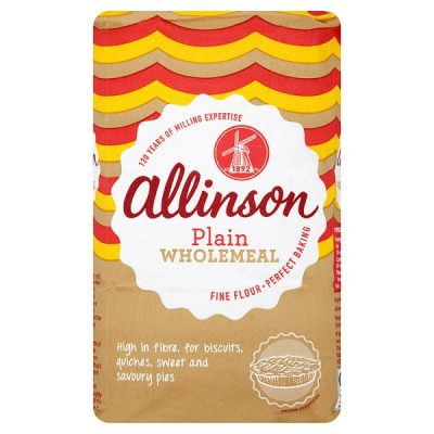 ALLINSON PLAIN WHOLEMEAL FLOUR