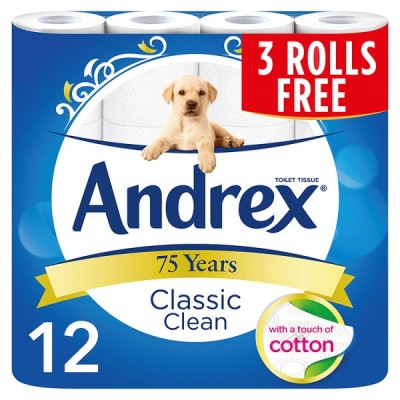 ANDREX 12F9 WHITE CLASSIC CLEAN