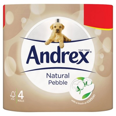 ANDREX 4ROLL NATURAL PM2.25