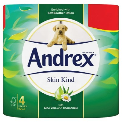 ANDREX 4ROLL SKIN KIND PM2.25