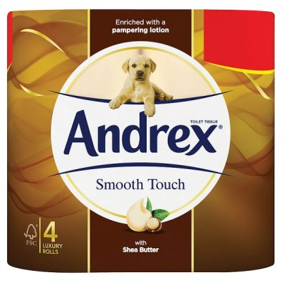 ANDREX 4ROLL SMOOTH TOUCH PM2.25