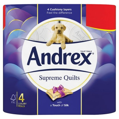 ANDREX 4ROLL QUILTS PM2.25