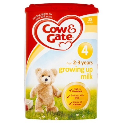 COW & GATE POWDER NO4 GROWING UP MILK 2-3YR