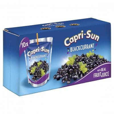 CAPRISUN BLACKCURRANT 10PK