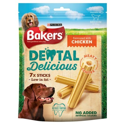 BAKERS DENTAL DELICIOUS CHICKEN MEDIUM
