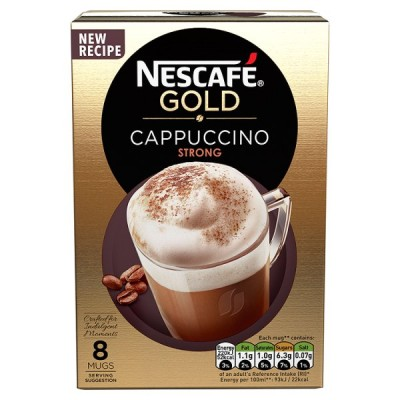 NESCAFE GOLD CAPPUCCINO STRONG PM