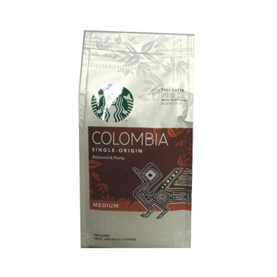 STARBUCKS GROUND COFFEE COLOMBIAN