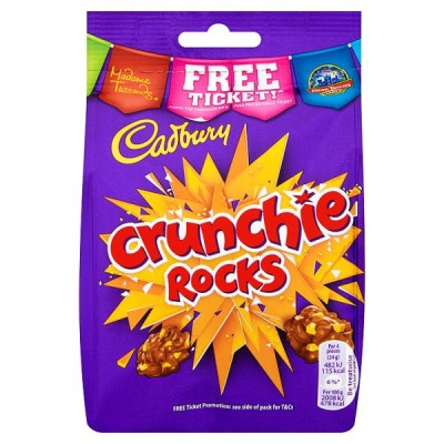 CADBURY CRUNCHIE ROCKS BAG