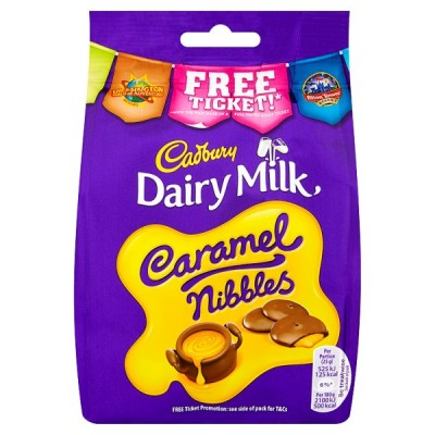 CADBURY CARAMEL NIBBLES BAG