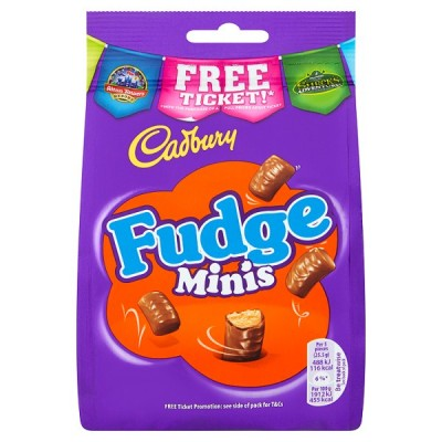 CADBURY FUDGE BITES